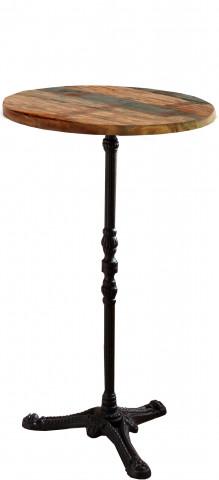 Masa de bar rotunda din lemn Tables & Co 111 x 60 cm