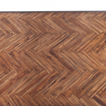 Masuta de cafea dreptunghiulara din salcam cu spatiu de depozitare Hudson 120x70x40 cm neagra