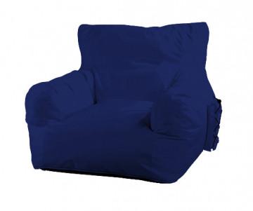 Puf impermeabil Relax Big Daddy albastru