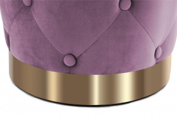 Puf/ Taburet tapitat Piano violet