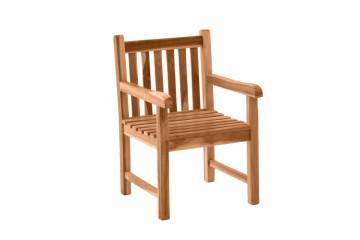 Scaun pentru gradina din lemn de tec maro