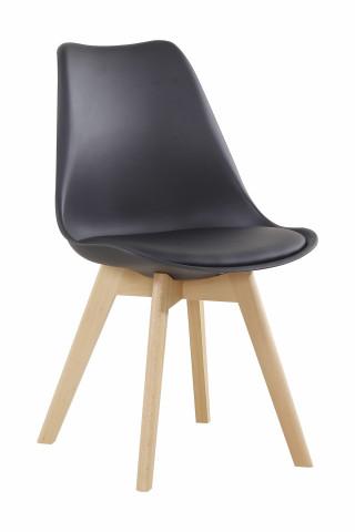 Set 2 scaune Monica negre