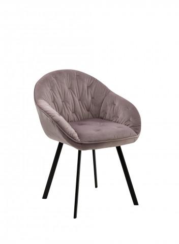 Set 2 scaune tapitate Belle Rose