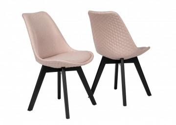 Set 2 scaune tapitate Cleo Rose