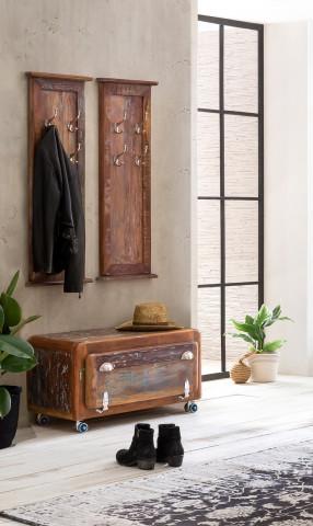 Set 3 piese mobilier pentru hol din lemn Fridge