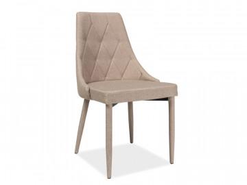 Set 4 scaune din catifea Trix bej