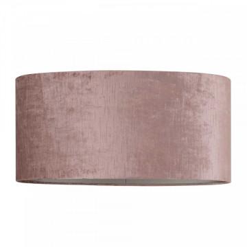 ABAJUR oval din polyester Philou roz