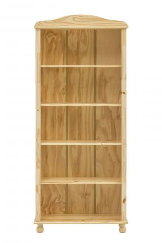 Biblioteca din pin masiv 77x30x180 cm