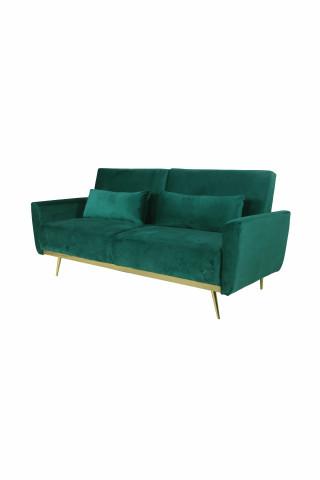Canapea Macy verde, 3 locuri