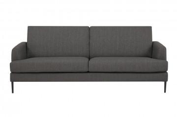 Canapea tapitata antracit, 3 locuri