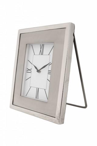 Ceas de masă Moments 3x24x29 cm argintiu