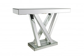 Consola din MDF with mirrored glass