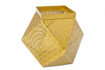 Cos Basket Art Auriu I