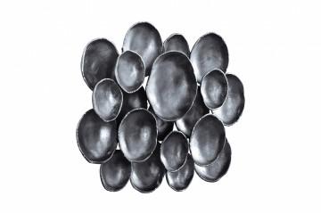 Decorațiune de perete Domizil 80x51x10 cm neagra