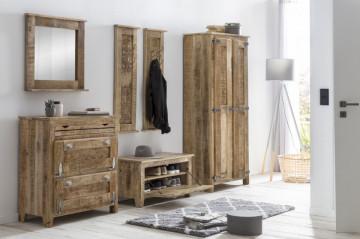 Dulap din lemn masiv Frigo 80x180 cm