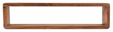 Etajera din lemn de salcam 80x15x20 cm