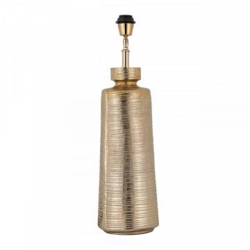 Lampa decorativa din aluminiu Gatlin aurie, un bec