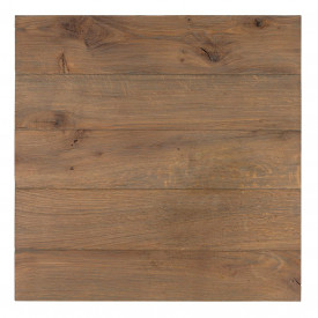 Masa de bar patrata cu blat din lemn de stejar Gastronomy 79x80x80 cm