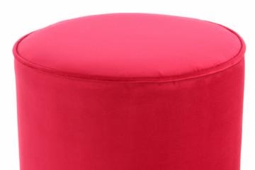 Puf/ Taburet din catifea Nena rosu