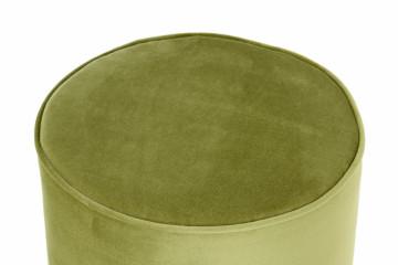 Puf/ Taburet din catifea Nena verde