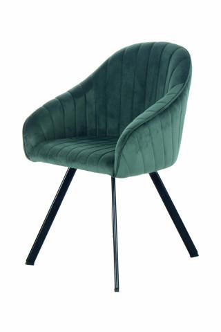 Set 2 scaune tapitate Jodie verzi
