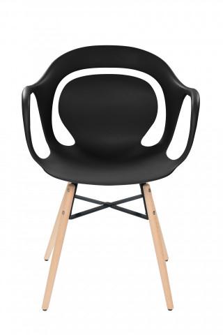 Set 4 scaune Chuck negre