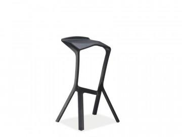 Set 4 scaune de bar Volt negre