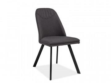 Set 4 scaune tapitate Pablo gri inchis