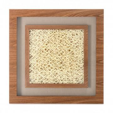 Tablou din lemn Carre III 60cm x 60cm