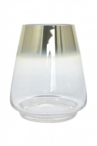 Vaza din sticla Saigon, aurie