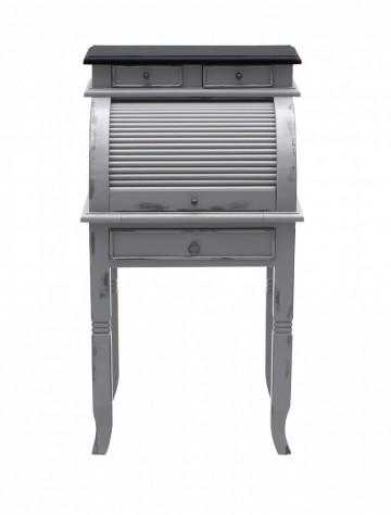 Birou/ Secratariat din salcam solid cu spatiu de depozitare Spa 100 cm