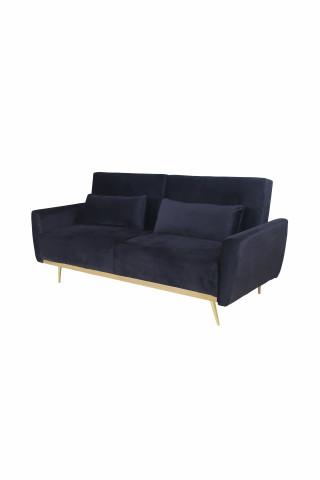 Canapea Macy negru, 3 locuri