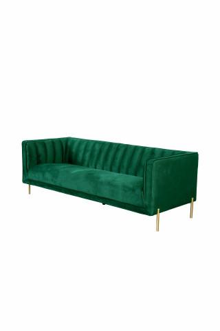 Canapea Santana verde, 3 locuri