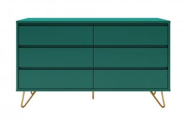 Comoda din MDF 120 cm verde
