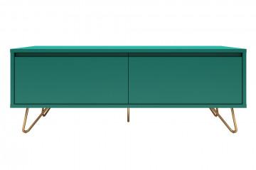 Comoda TV din MDF 120 cm verde