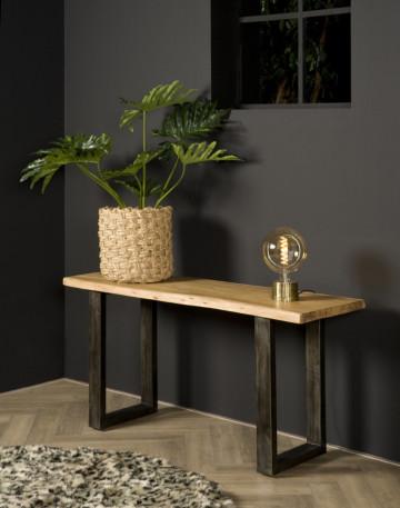 Consola din lemn 150x45 cm