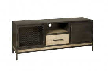 Consola TV din lemn de mango 153 cm