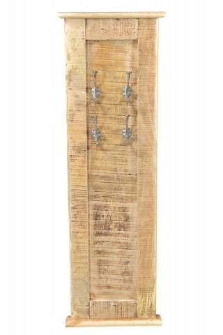 Cuier din lemn masiv Frigo 35 x 7 x 110 cm