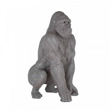 Decoratiune Gorilla, gri