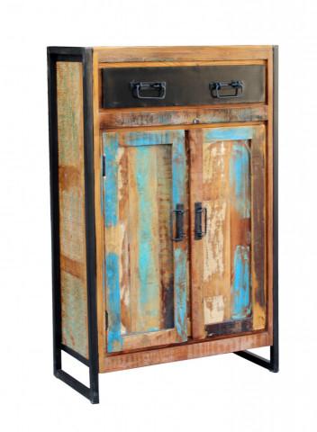 Dulap din lemn reciclat Bali 76x110 cm