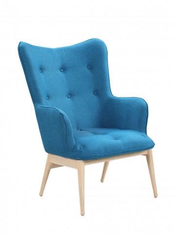 Fotoliu tapițat Sit&Chairs albastru