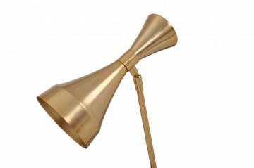 Lampa de birou din metal Cosima, auriu, un bec