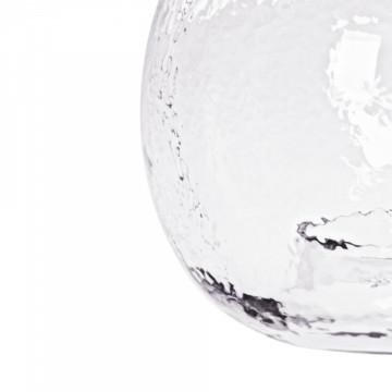 Lustra din sticla/fier Altair Small transparent/negru, un bec