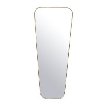 Oglinda dreptunghiulara cu rama aurie Mr. Vain, 50 x 3 x 120 cm