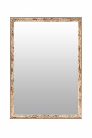 Oglinda dreptunghiulara cu rma din polistiren alba /maro/aurie Gilbert, 69,5cm (L) x 49,5cm (L) x 1,6cm (H)