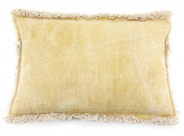 Perna din bumbac Mono 40x60 cm -galbena