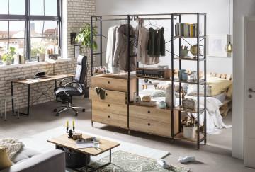 Scaun de birou din imitatie de piele cu cadru metalic