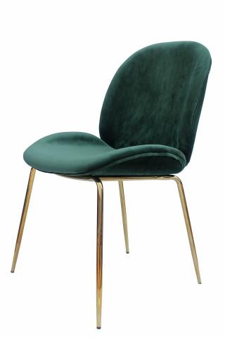 Set 2 scaune tapitate Charlize verzi