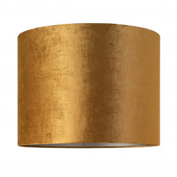 ABAJUR cilindric din polyester Goya auriu, diametru 50 cm