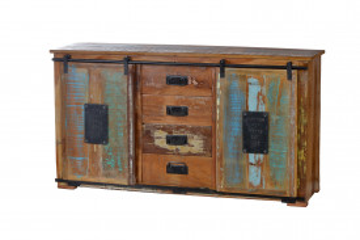 Comoda din lemn reciclat Jupiter 150 cm